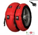 "CAPIT - BIKE MAXIMA VISION TYRE WARMERS M/XL ""RED"""