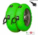 "CAPIT - BIKE SUPREMA VISION TYRE WARMERS ""GREEN"""
