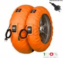 "CAPIT - SUPREMA VISION PRO TYRE WARMERS M/XL ""ORANGE"""